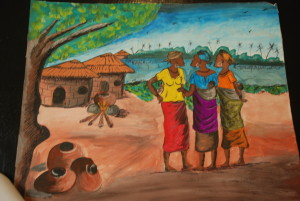 """Layout"" submitted by Mensah Kankam Evans, student at Ahmadiuah Senior High School, Kumasi Ghana"