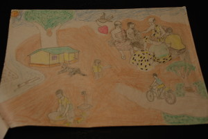"""Harmony"" submitted by Quansah Enoch, student at Okyerekrom Junior High School, Kumasi-Ejisu Ghana"