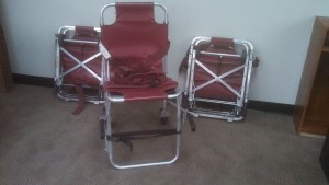 UMR donated items: ferno stairchairs
