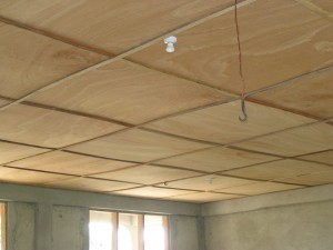 New ceiling Okyerekrom Junior High School