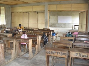 Okyerekrom Junior High School - New Classroom